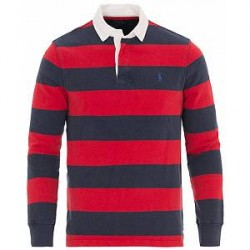 Polo Ralph Lauren Stripe Rugby Newport Navy/Ralph Red