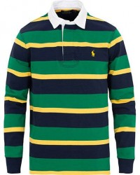 Polo Ralph Lauren Stripe Rugger Green/Yellow/Navy men S