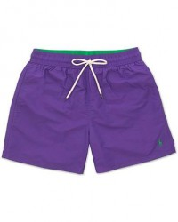 Polo Ralph Lauren Traveler Boxer Swimshorts Cabana Purple men M