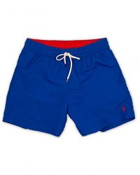 Polo Ralph Lauren Traveler Boxer Swimshorts Rugby Royal men XXL Blå