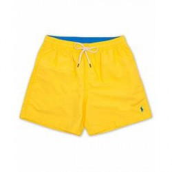 Polo Ralph Lauren Traveler Boxer Swimshorts Signal Yellow