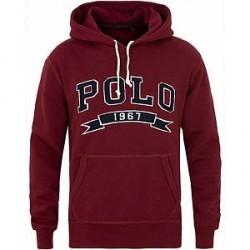 Polo Ralph Lauren Varsity Polo Hoodie Classic Wine