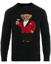 Polo Ralph Lauren Wool/Cashmere Chinese New Years Bear Black men M