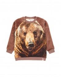 Popupshop Sweat Brown sweatshirt