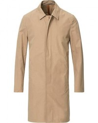 Private White V.C. Unlined Cotton Ventile Mac Coat 3.0 Sand men 3 - S Beige