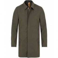 Private White V.C. Unlined Ventile® Mac Coat Olive