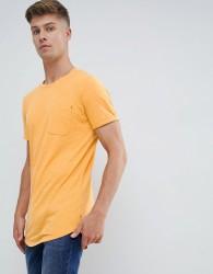 Produkt Basic Longline T-Shirt - Yellow