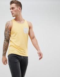 Produkt Contrast Pocket Vest - Yellow