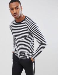 Produkt Long Sleeve Striped Top - Navy