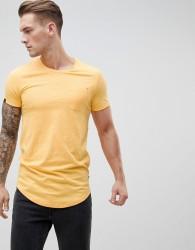 Produkt Longline Pocket T-Shirt - Yellow