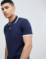 Produkt Polo Shirt With Tipping - Navy