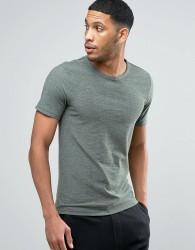 Produkt T-Shirt with Melange Detail - Grey