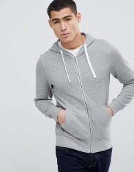 Produkt Zip Through Hoodie - Grey