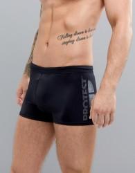 Protest Carsten Swim Trunks in Black - Black