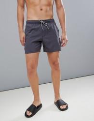 Protest Dave Swim Shorts 16 Inch in Black - Black