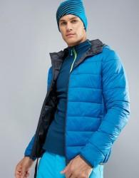 Protest Nori Puffer Ski Jacket - Blue