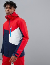 Protest Yoyo Snow Jacket in Red - Red