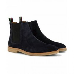 PS by Paul Smith Andy Crep Sole Chelsea Boot Navy Suede