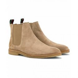PS by Paul Smith Andy Crep Sole Chelsea Boot Taupe Suede