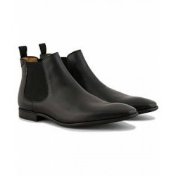 PS By Paul Smith Falconer Chelsea Boot Black Calf