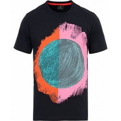 PS by Paul Smith Paul Smith Printed Crew Neck Tee Navy