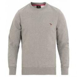 PS by Paul Smith Zebra Crew Neck Sweatshirt Grey