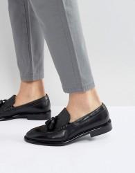 PS Paul Smith Omarr Tassel Loafers in Black - Black