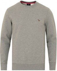 PS Paul Smith Zebra Crew Neck Sweatshirt Grey Melange men L
