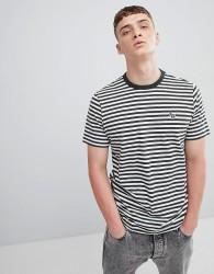 PS Paul Smith Zebra Logo Stripe T-Shirt In Green - Green