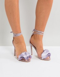 Public Desire Sugar Lilac Heeled Sandals - Purple