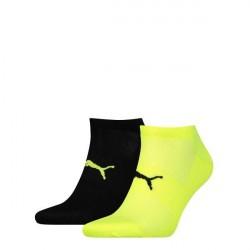 Puma 2-pak Active Lightweight Sneaker Socks - Black/Yellow * Kampagne *