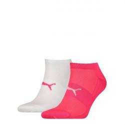 Puma 2-pak Active Lightweight Sneaker Socks - White/Pink * Kampagne *