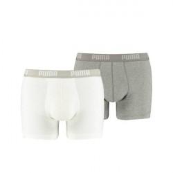 Puma 2-pak Basic Boxer - White/Grey * Kampagne *