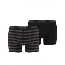 Puma 2-pak Stripe Boxer - Black * Kampagne *