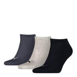 Puma 3-pak Sneaker Socks - Navy/Grey * Kampagne *
