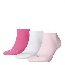 Puma 3-pak Sneaker Socks - Pink/White * Kampagne *