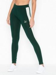 Puma Classics Logo T7 Legging Træningstights Mørkegrøn