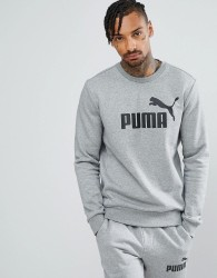 Puma ESS No.1 Crew Neck Sweatshirt In Grey 83825203 - Grey
