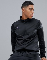 Puma Football Poly Tracksuit In Black - Black