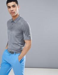 Puma Golf Evoknit Seamless Polo T-Shirt In Grey 57454707 - Grey
