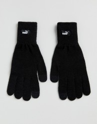 Puma knit gloves in black 04131604 - Black