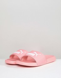 Puma PopCat Sliders In Pink 36026525 - Pink