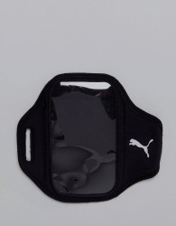 Puma Running Armband In Black - Black