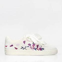 Puma Sko - Suede Heart Flowery