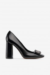 Pumps med strass