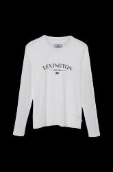 Pyjamas med top i blød jersey med Lexington logoprint foran og bukser i skøn, stribevævet flonel med bindebånd i taljen.