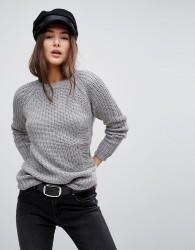 QED London Knit Jumper - Grey