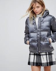 QED London Padded Jacket - Grey