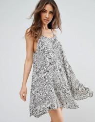 QED London Printed Cami Dress - Multi