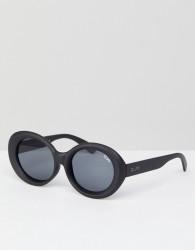 Quay Australia Mess Around Cat Eye Sunglasses In Black - Black
